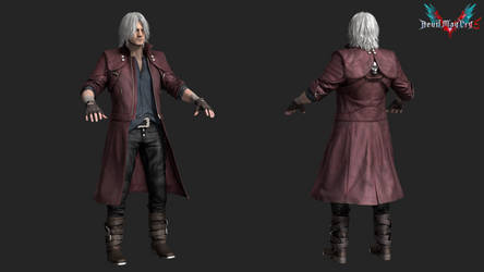 devil may cry 5: dante awakened by rotten-eyed