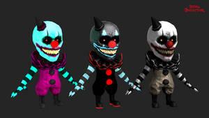 dark deception: clown gremlins