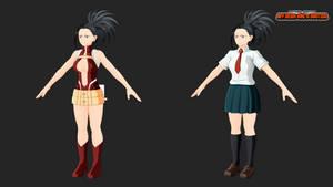 my hero one's justice: momo yaoyorozu