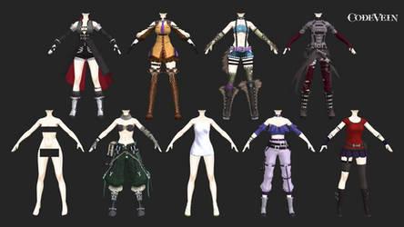 code vein: inners female