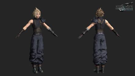 FFVIIR: cloud strife armor standart