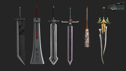 FFVIIR: cloud strife weapon