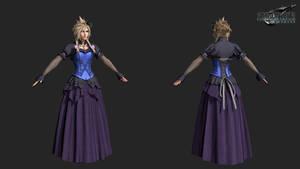 FFVIIR: cloud strife dress ordinary