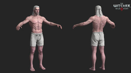 the witcher 3: geralt nude