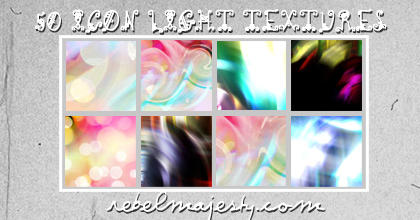 Icon Light Texture Set 001 by RebelMajesty