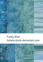 Funky Blue Texture Pack by Limaria-Stock
