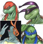Darkest Ninja Turtles Evolution ch01 by alaer