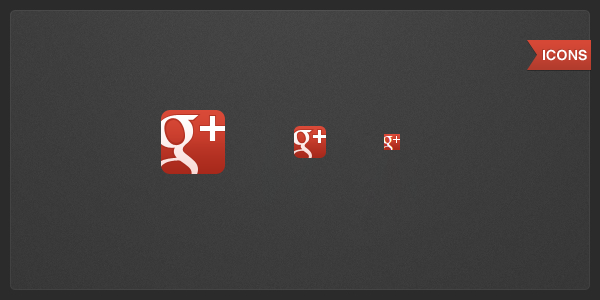 Google+ icons by Draganja