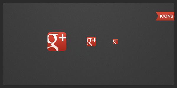 Google+ icons by Draganja