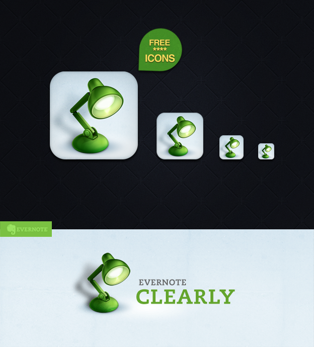 Evernote Clearly icon by Draganja