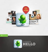 Evernote Hello icon #2 by Draganja