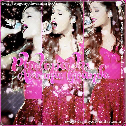 Photopack Ariana Grande 001 by iSparksOfLies