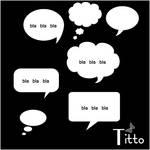 Talk Bubbles by Titto