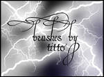 Lightning brushes
