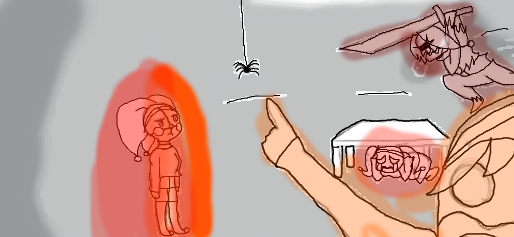 It's a Spider in the PIzzeria!!! ft Four Jesters by UndertaleSokemo