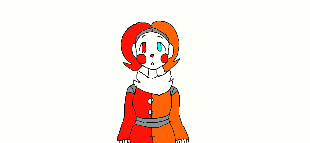 Blustreakgirl's style of Funtime Jester by UndertaleSokemo