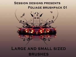 Foliage brushset 01 by Destinati0n