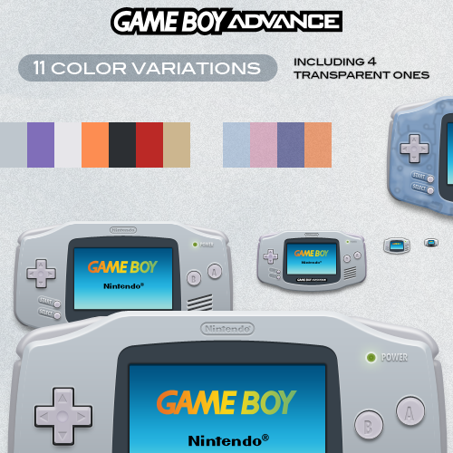 GameBoy Advance icon by Heliogon