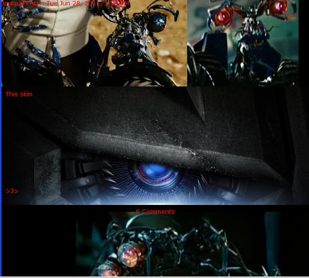 Transformers Skin by PlushBuddies