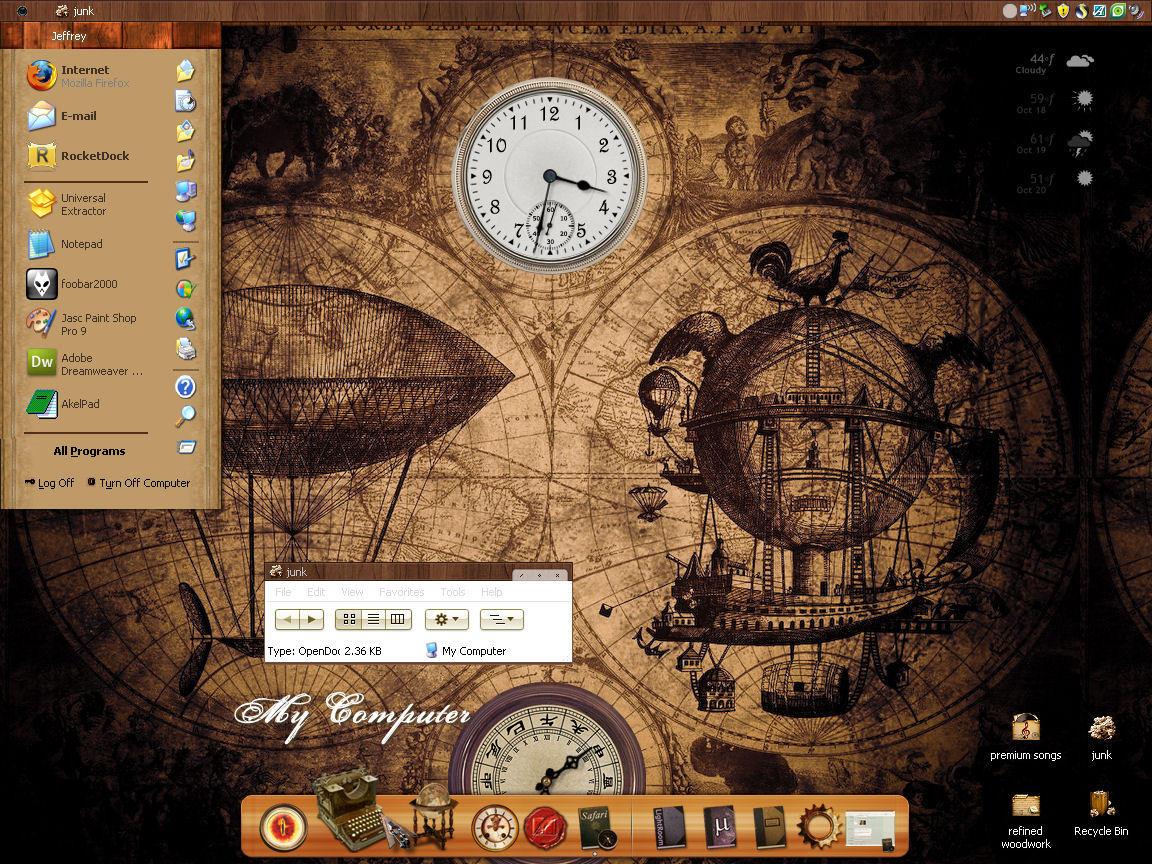 steampunk: refined woodwork by pixeltarian