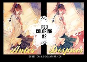 PSD Coloring #2 by Debbiichan by debbiichan