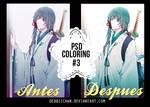 PSD Coloring #3 by Debbiichan