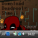 Deadpool shimeji. by CakeDoom