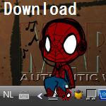 Spiderman Shimeji.