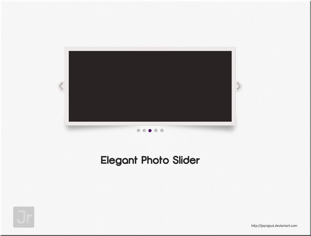 Elegant photo slider by jayrajput