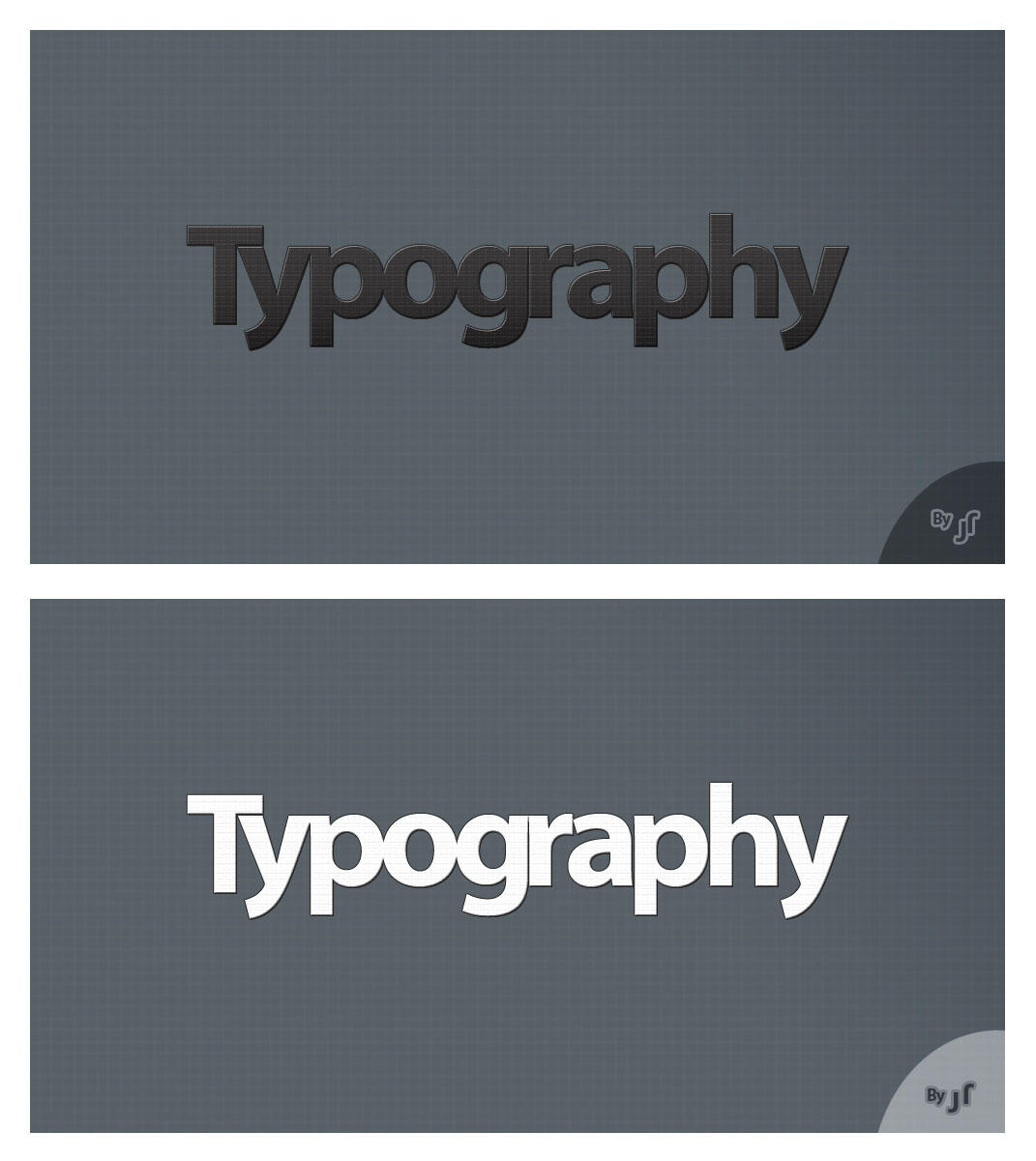 Typography PSD by jayrajput