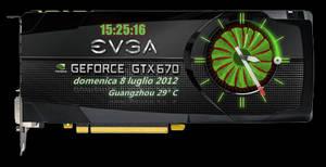 EVGA GTX 670 nvidia Clock 1.1.1