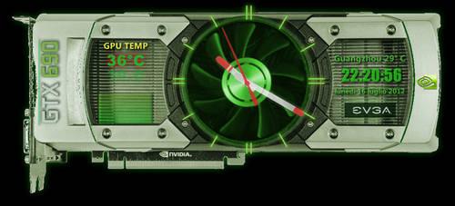 EVGA GTX 690 nvidia Clock Temp 1.2.0