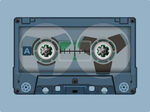 Vintage Cassette Tape by Drakullas