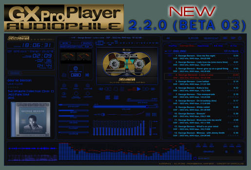 GXproPlayer AUDIOPHILE 2.2.0 (BETA 003)