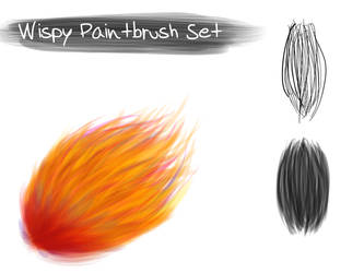 Wispy Paintbrush Set