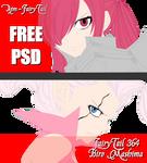 FairyTail 364 - Erza and Mirajane Duo - PSD by AJM-FairyTail
