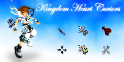 Kingdom Heart 2 Cursors