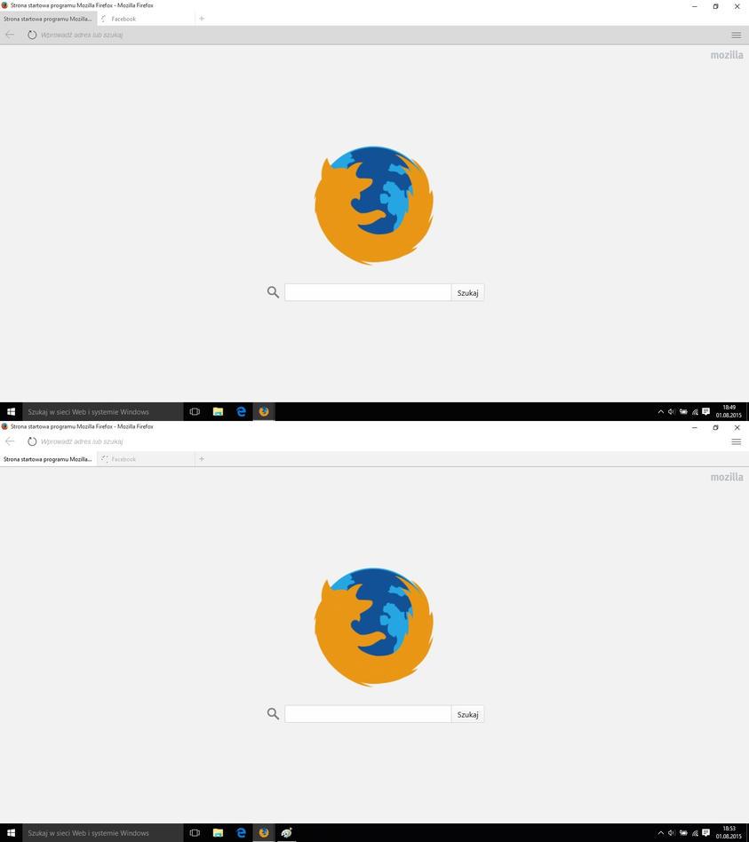 Windows 10 Firefox Theme by maxxdogg