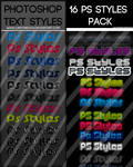 +25 PS Styles Bundle: FREE by UJz