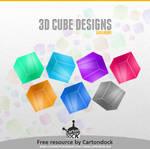 3D Cube Designs
