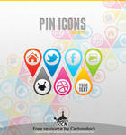 Pin Icons and Shape Set