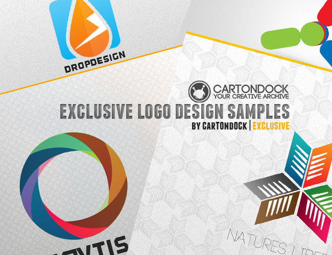 DeviantArt: More Like Free Logo Template: A Modern Logo Badge PSD ...