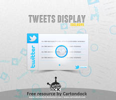 Twitter Display Freebie .psd by UJz