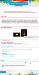 Splatter : Free Journal Skin by UJz