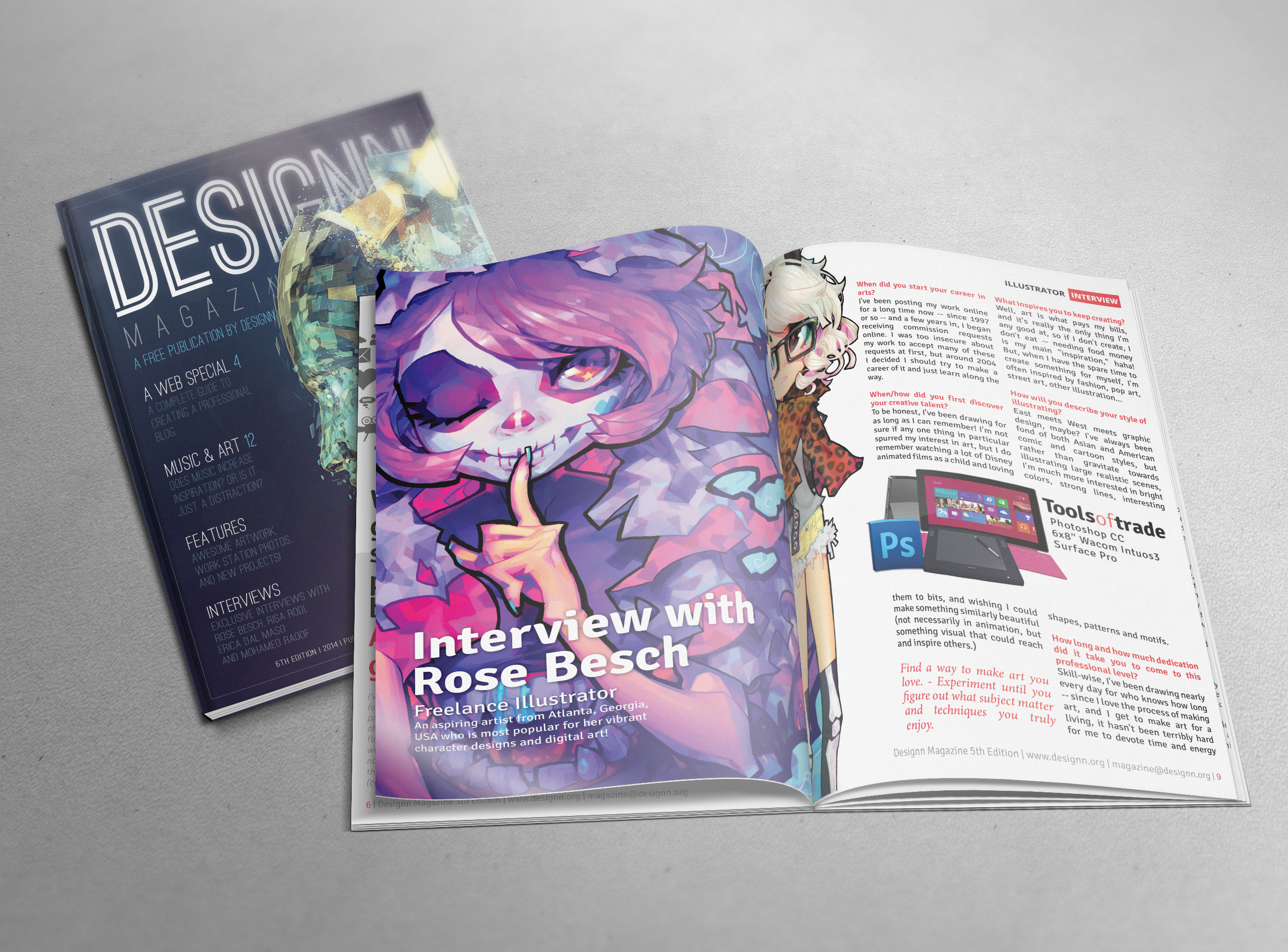 Designn Magazine 5th Edition by UJz
