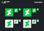 New DeviantART Icon Pack