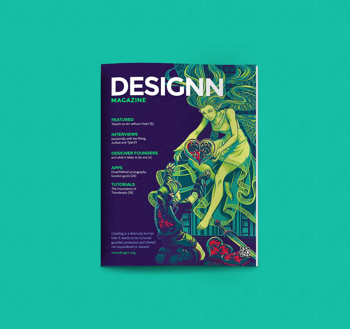 Designn Magazine Seven by UJz