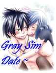 Fairy Tail Sim Date - Gray!
