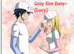 Fairy Tail Sim Date - Gray (Lucy)