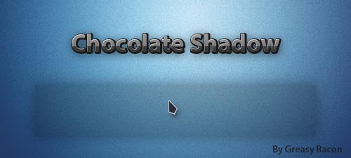 Chocolate Shadow Cursor by GreasyBacon